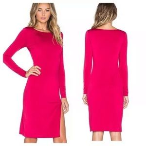 Lovers + Friends Bodycon Dress Midi Long Sleeve